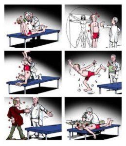 Dr. Lebmeier Cartoon
