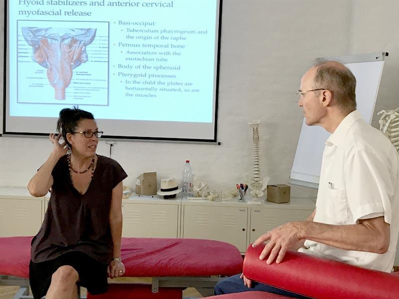 Dr. Lebmeier, Ausbildung zum Kinder-Osteopath
